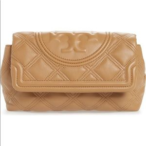 Fleming Soft Quilted Leather Clutch (BRAND NEW)!